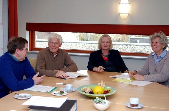 Het bestuur van de Stichting VPP in vergadering